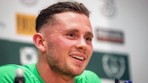 Alan Browne met the media ahead of next week's friendly