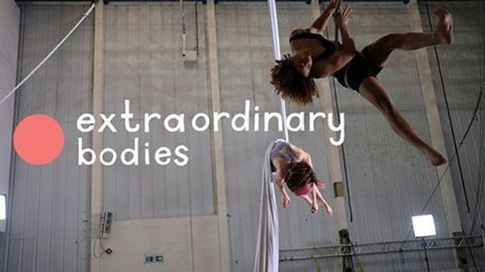 Extraordinary Bodies circus company at the Carlow Arts Festival 2018