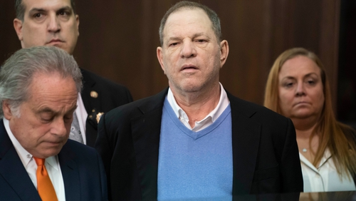 Harvey Weinstein still faces charges relating to two other sexual assault allegations