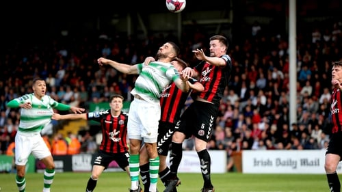A late flurry of action brought this derby to life