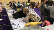 Counting began at centres across the country at 9am