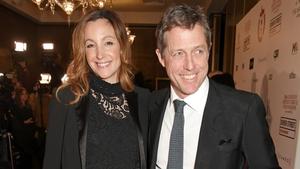 Anna Eberstein and Hugh Grant - Married near their London home