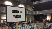 The Taoiseach's polling station in Castleknock where tallies indicated a Yes vote of 75%
