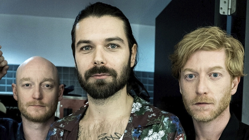 """Biffy Clyro (James Johnston, right) - """"We've got a long history with Dublin"""""""
