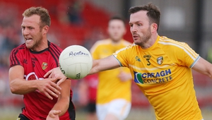 Down cantered home by seven points against Antrim in Pairc Esler