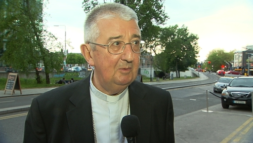 Dr Martin was speaking as he arrived to address an interfaith meeting in Dublin organised by the Muslim Sisters of Éire