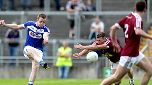 Paul Kingston fires home Laois' second goal