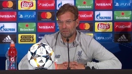 "Jurgen Klopp discusses final's ""strange"" goals"