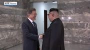 RTÉ News: Leaders of North and South Korea hold surprise meeting
