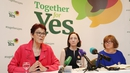 Together for Yes held its final press conference this morning