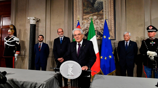 Italy crisis in European Union  spotlight as Cottarelli looks to form government