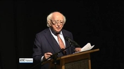 Nine News (Web): President visits Seamus Heaney HomePlace