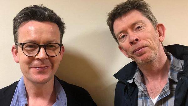 Enda Walsh with Mystery Train host John Kelly