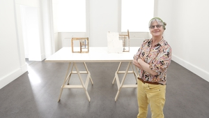 Artist Helen O'Leary at IMMA