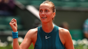 A relieved Petra Kvitova is into the second round