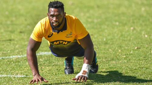 Siya Kolisi will lead South Africa against England