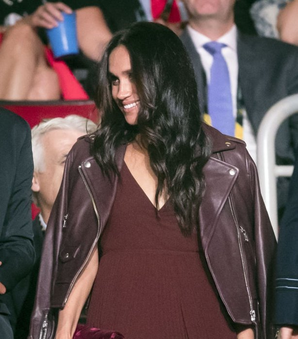 Meghan Markle wearing a dress from Atrizia at the Invictus Games (Danny Lawson/PA)