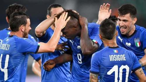 Mario Balotelli 'good enough' after goal in Italy return - Roberto Mancini