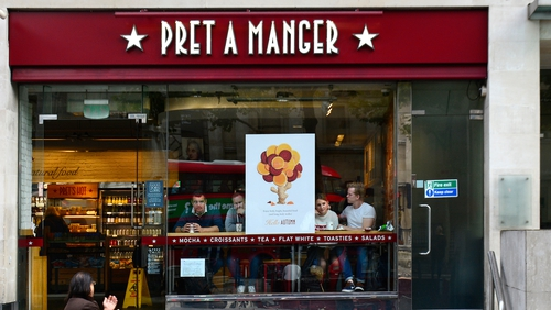 JAB buys majority stake in UK's Pret a Manger