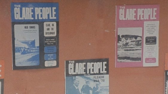 Offices of the Clare People magazine (1978)