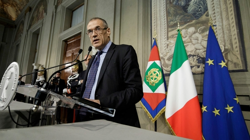 Italy's Prime minister-designate Carlo Cottarelli is set to unveil his cabinet later today