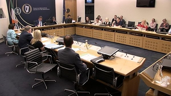 A spokesperson for the Oireachtas Committee said there was no public meeting last week