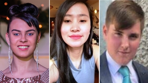 Separate investigations are under way into the murders of Anastasia Kreigel, Jastine Valdez and Cameron Reilly