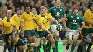 Reece Hodge is execting a stern test of Australia's credentials against Ireland