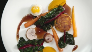 David O'Byrne's Quail & Carrots: Healthy Appetite