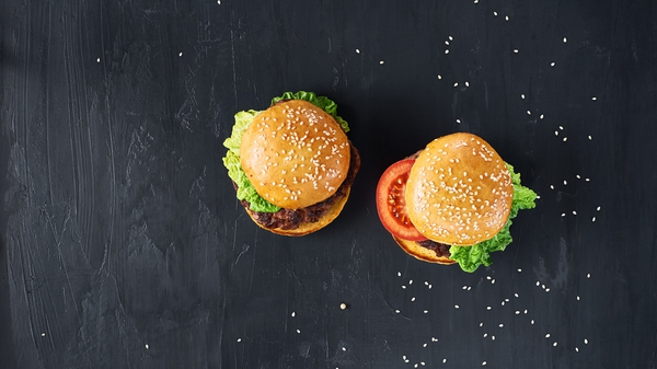 Venison Burgers with Red Pepper and Onion Salsa
