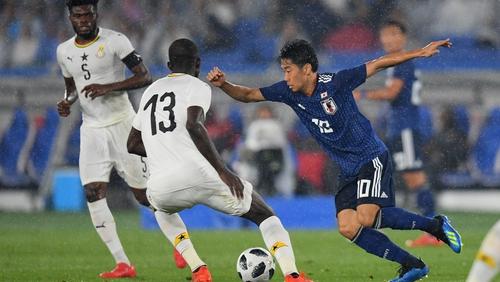 Shinji Kagawa is back in the fold for Japan