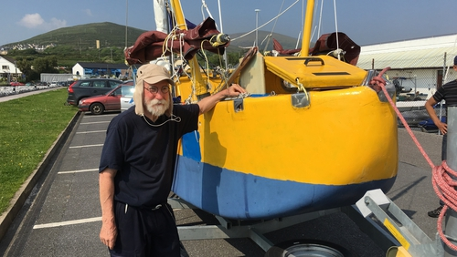 Yrvind hopes to complete his voyage in just over 300 days