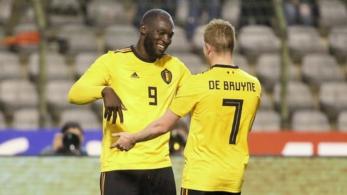 Belgium include Vincent Kompany but Christian Benteke misses out