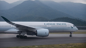 Cathay has grounded most of its planes because of falling demand amid coronavirus-related travel curbs