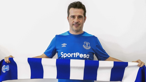 Marco Silva takes the reins at Goodison Park