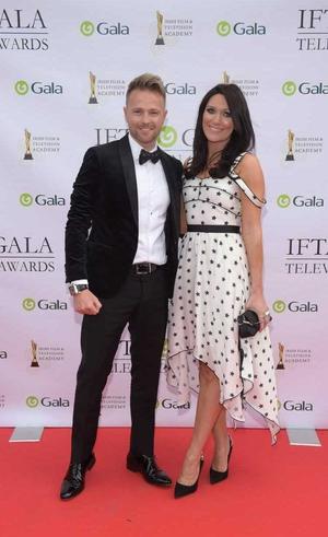 Nicky Byrne and Georgina Ahern