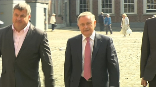 Brendan Howlin made his remarks in the Dáil in February 2017