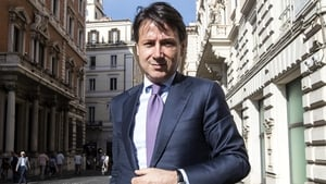 Italian Prime Minister Giuseppe Conte says the country has no intention of abandoning the euro