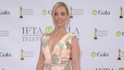 Kathryn Thomas at the IFTA Gala Television Awards