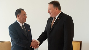 US Secretary of State Mike Pompeo and North Korean official Kim Yong Chol met for two days in New York