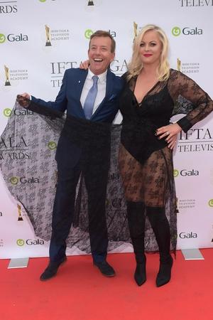 Alan Hughes and Amanda Brunker