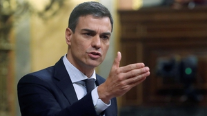 Pedro Sanchez has received the backing of six parties totalling 180 votes