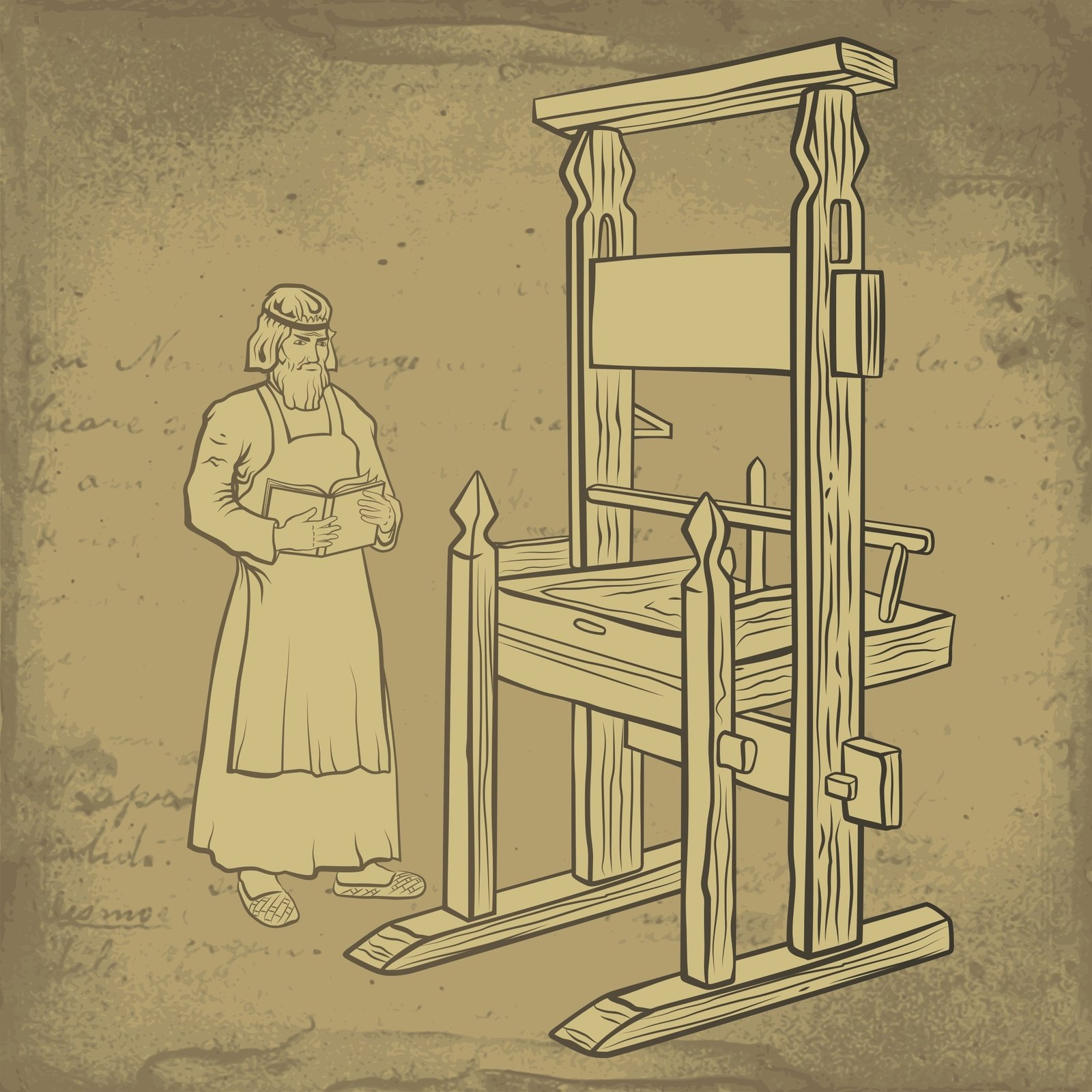 Image - Gutenberg Printing Press