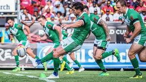 Scott Grix scored one of Ireland's tries