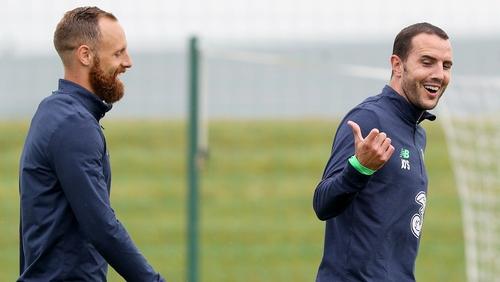 John O'Shea will play his last game for Ireland
