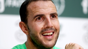 John O'Shea gave his last international pre-match press conference this afternoon