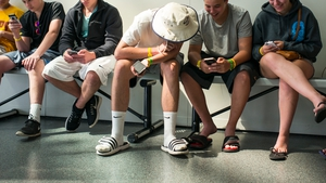 45% of teens were online 'almost constantly', the survey found