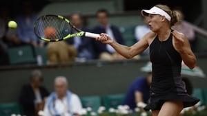 Caroline Wozniacki stormed into the fourth round of the French Open
