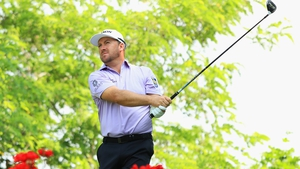 Graeme McDowell is one shot off the lead