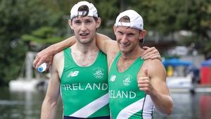 Gary and Paul O'Donovan shone in Belgrade